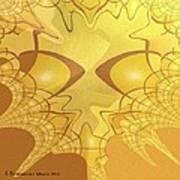 547 - All That Gold Art Print