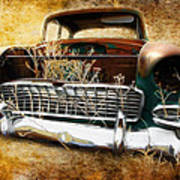 55 Chevy Art Print