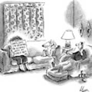 New Yorker March 28th, 2005 Art Print