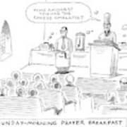 New Yorker November 24th, 2008 Art Print
