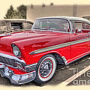 56 Classic Chevy Art Print