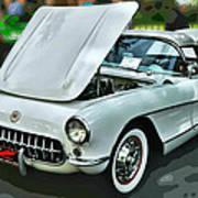 '56 Corvette Art Print