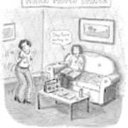 New Yorker September 11th, 2006 Art Print