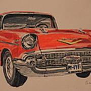 57' Bel-aire Art Print