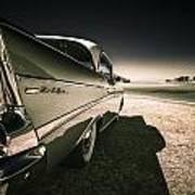 57 Chevrolet Bel Air Art Print