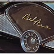 57 Chevy Bel Air Dash Art Print