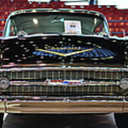 '57 Chevy Bel Air Show Car Art Print