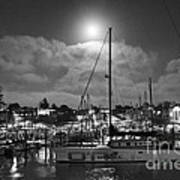 570 Bw The Sea Odessy                                      In Monochome 2 Art Print