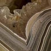 Agate Closeup Art Print