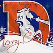 Denver Broncos Art Print