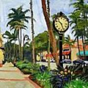 5th Avenue Naples Florida Art Print