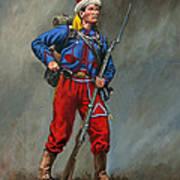 5th New York Veteran Volunteers - Duryee's Zouaves 1864 Art Print