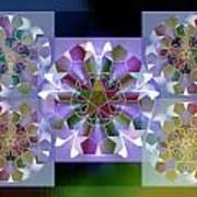 5x5 Synthesis 10 Art Print