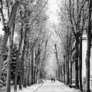 Pere-lachais Cemetery In Paris France Art Print