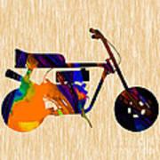 1960s Mini Bike Art Print