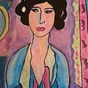 A Lady Art Print