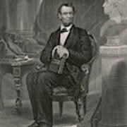 Abraham Lincoln (1809 - 1865) U Art Print