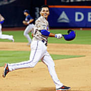 Atlanta Braves V New York Mets 6 Art Print