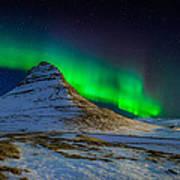 Aurora Borealis Or Northern Lights Art Print