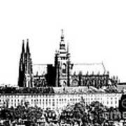 Cathedral Of St Vitus Art Print