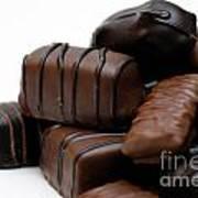 Chocolate Candies Art Print