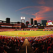 Cincinnati Reds V St Louis Cardinals Art Print