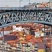 City Of Porto In Portugal Art Print