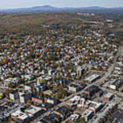 Concord, New Hampshire Nh Art Print by Dave Cleaveland