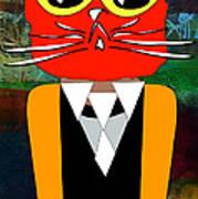 Cool Cat Art Print