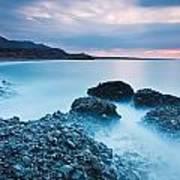 Blue Crete. Art Print