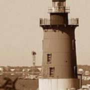 Delaware Breakwater Lighthouse Art Print