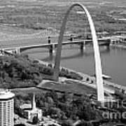 Gateway Arch Saint Louis Mo Art Print