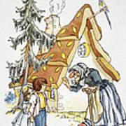 Grimm: Hansel And Gretel Art Print