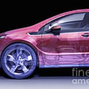 Hybrid Car Art Print