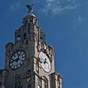 Liverpool's World Heritage Status Waterfront Buildings Art Print