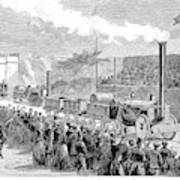 Locomotive Rocket, 1829 Art Print