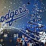 Los Angeles Dodgers Art Print
