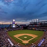 Los Angeles Dodgers V Colorado Rockies Art Print