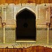 Medina Of Faz Art Print by Catf