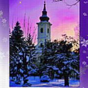 Christmas Card 21 Art Print