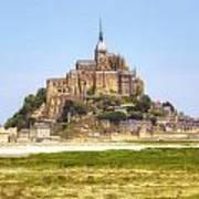 Mont Saint-michel - Normandy Art Print
