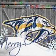 Nashville Predators Art Print