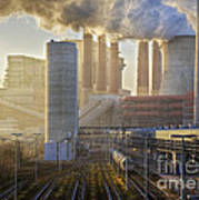 Neurath Power Station Germany Art Print
