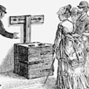 Newgate Prison, 1873 Art Print