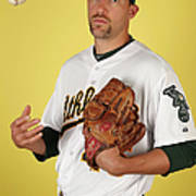 Oakland Athletics Photo Day Art Print