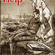 Red Cross Poster, C1917 Art Print