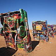 Route 66 - Cadillac Ranch Art Print