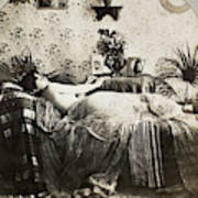 Sleeping Woman, C1900 Art Print