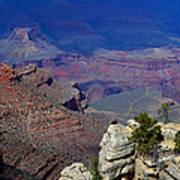 South Rim Of The Grand Canyon Art Print