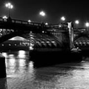 Southwark Bridge London Art Print